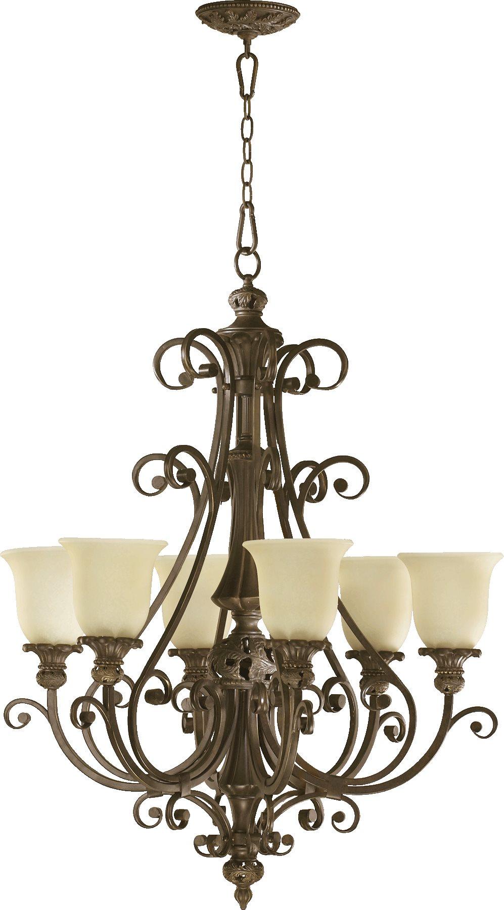 Quorum Lighting 6032 6 54 Fulton Traditional Chandelier Qr