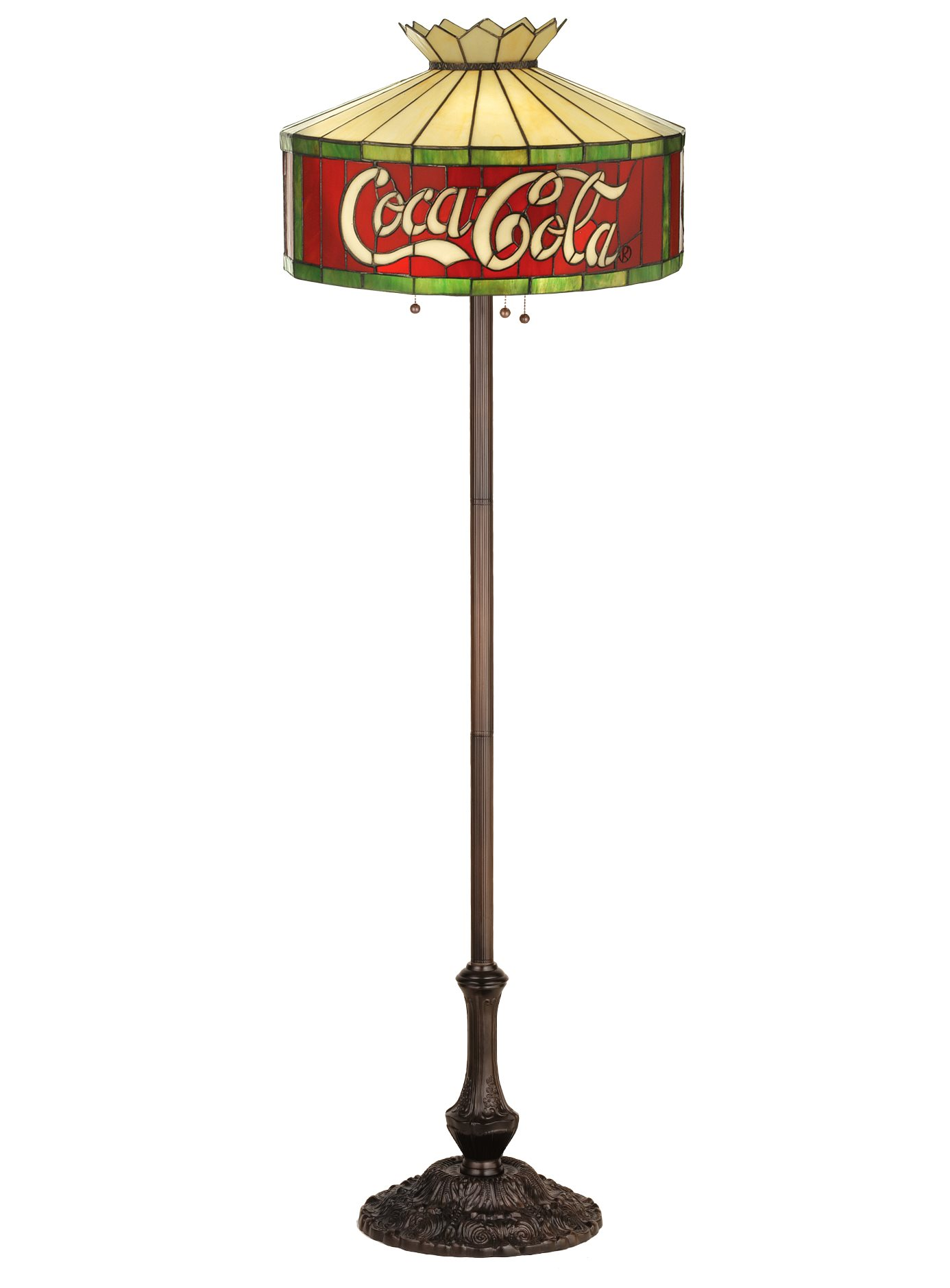 Meyda Tiffany 74068 Coca Cola Floor Lamp Md 74068
