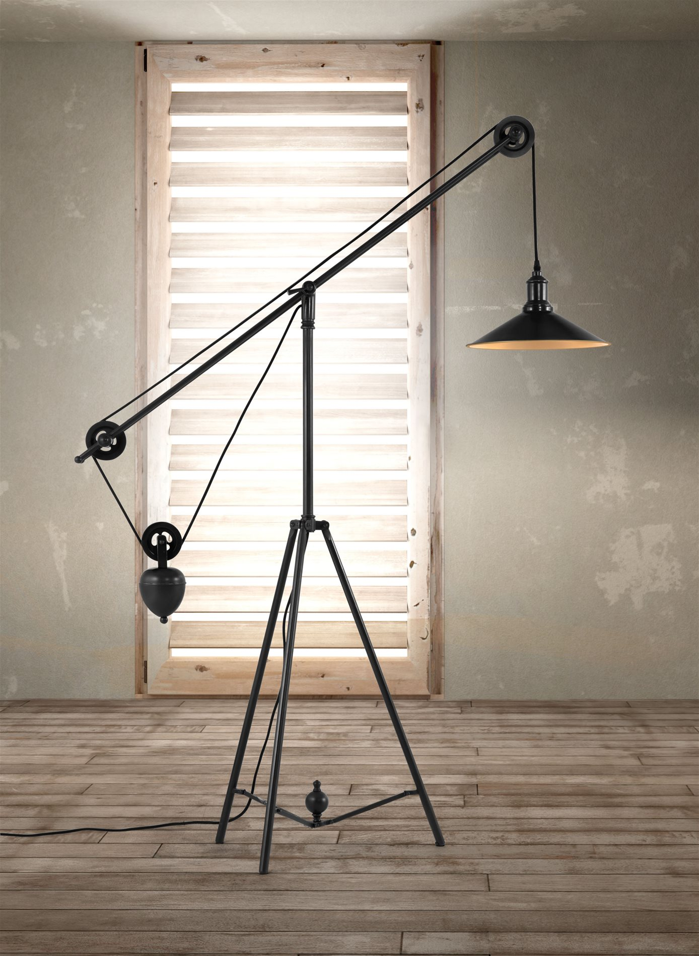Zuo Modern 98235 Jasper Contemporary Floor Lamp Zm 98235