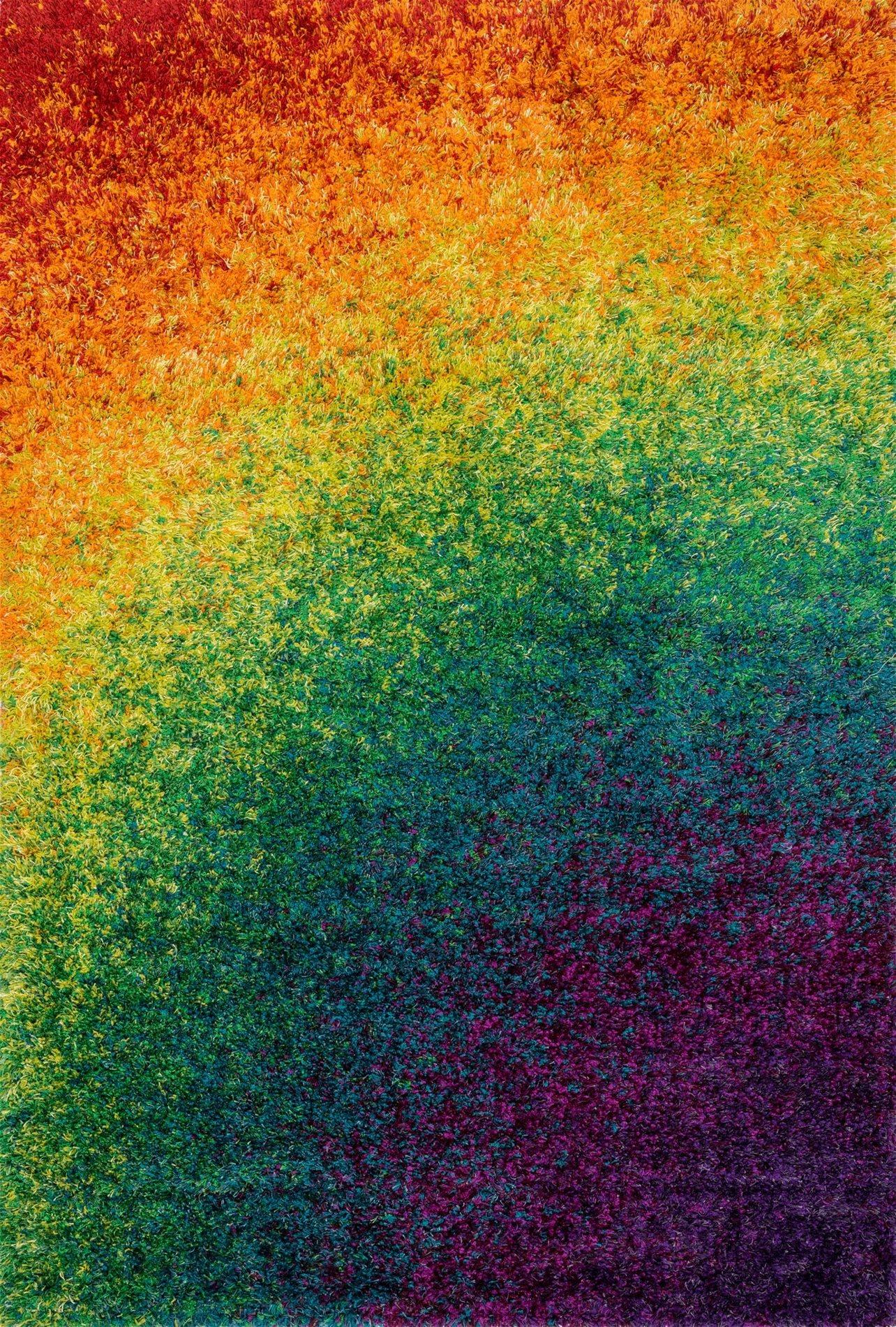 Loloi Rugs Barcbs 01rn Barcelona Rainbow Modern