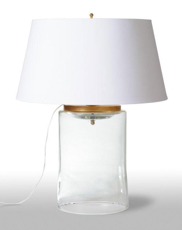 barbara cosgrove lamps transparent light barbara cosgrove bc1150 glass cylinder transitional table lamp bcg