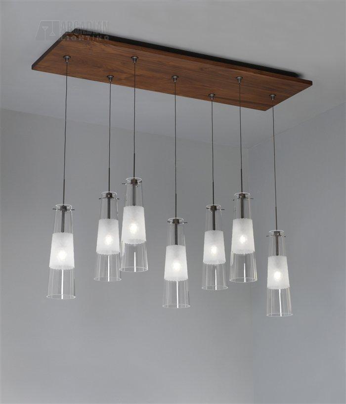 Lbl Lighting Ck007rd Fj Low Voltage 7 Light Rectangle Wood