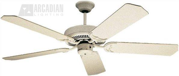 Craftmade c52 sw 52 decorative ceiling fan cm c52 sw sandstone white motor finish with natural pine decorative ceiling fan blades aloadofball Gallery