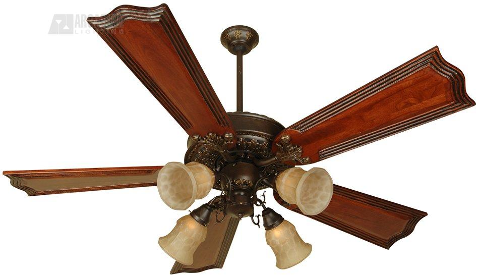 Craftmade p252 presidential ii 52 traditional ceiling fan cm p252 antique brass motor finish with standard light oak polygloss blades and light kit aloadofball Image collections