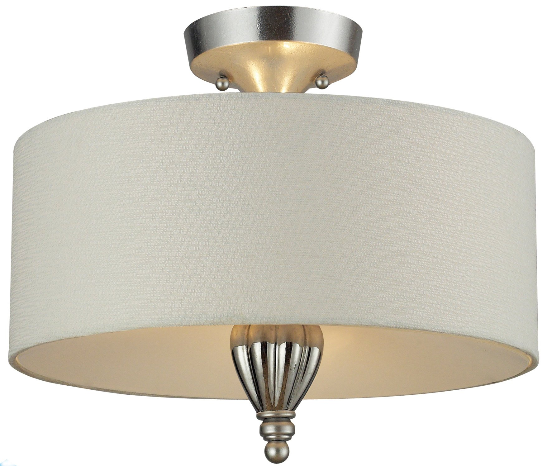 Elk Lighting Fans: Elk Lighting 46031/3 Martique Transitional Semi Flush