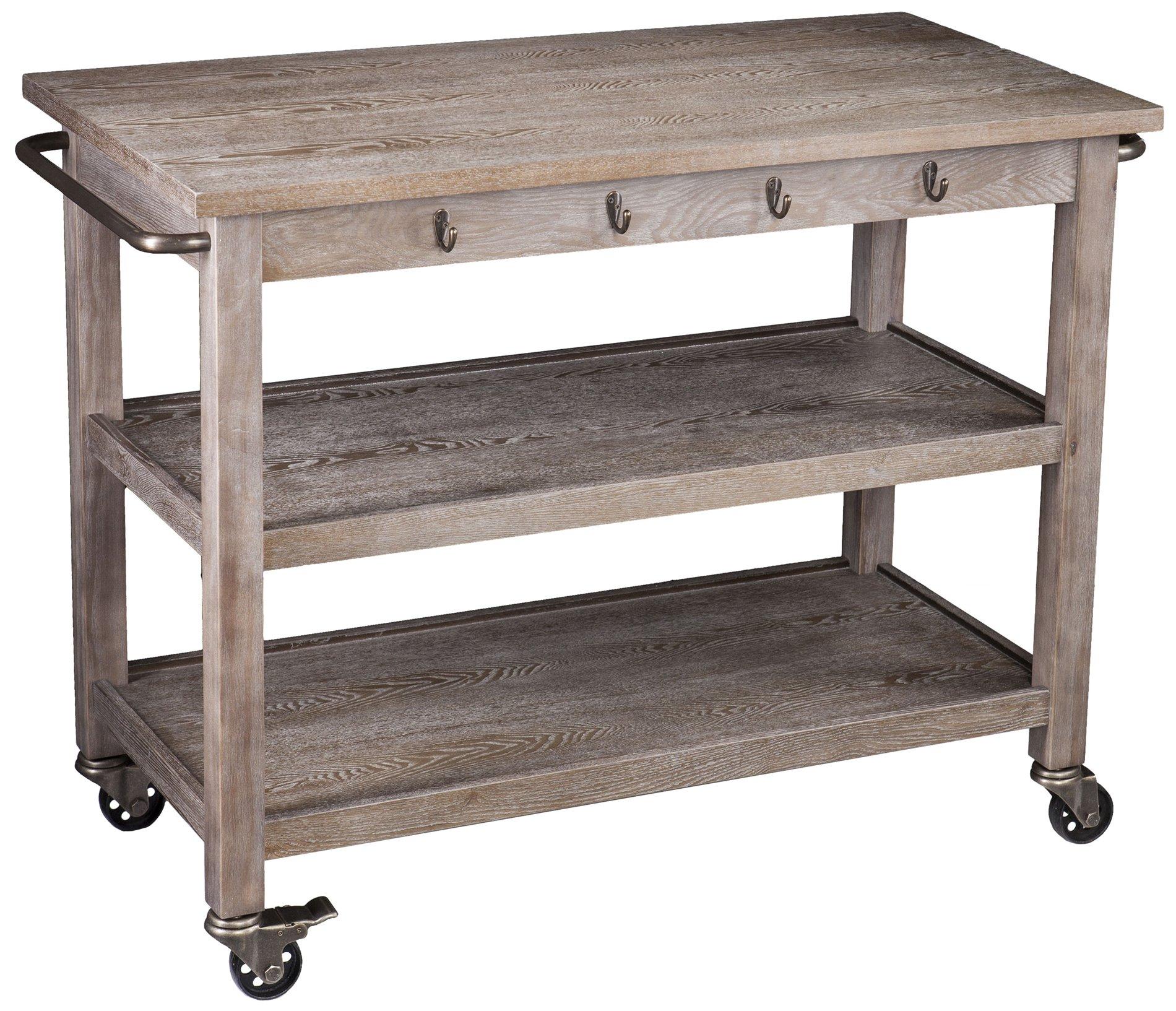 Dontos Industrial Kitchen Cart Southern Enterprises