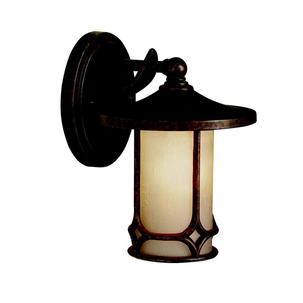 Kichler lighting 9364agz outdoor wall 1lt kch 9364 agz transparent light aloadofball Gallery