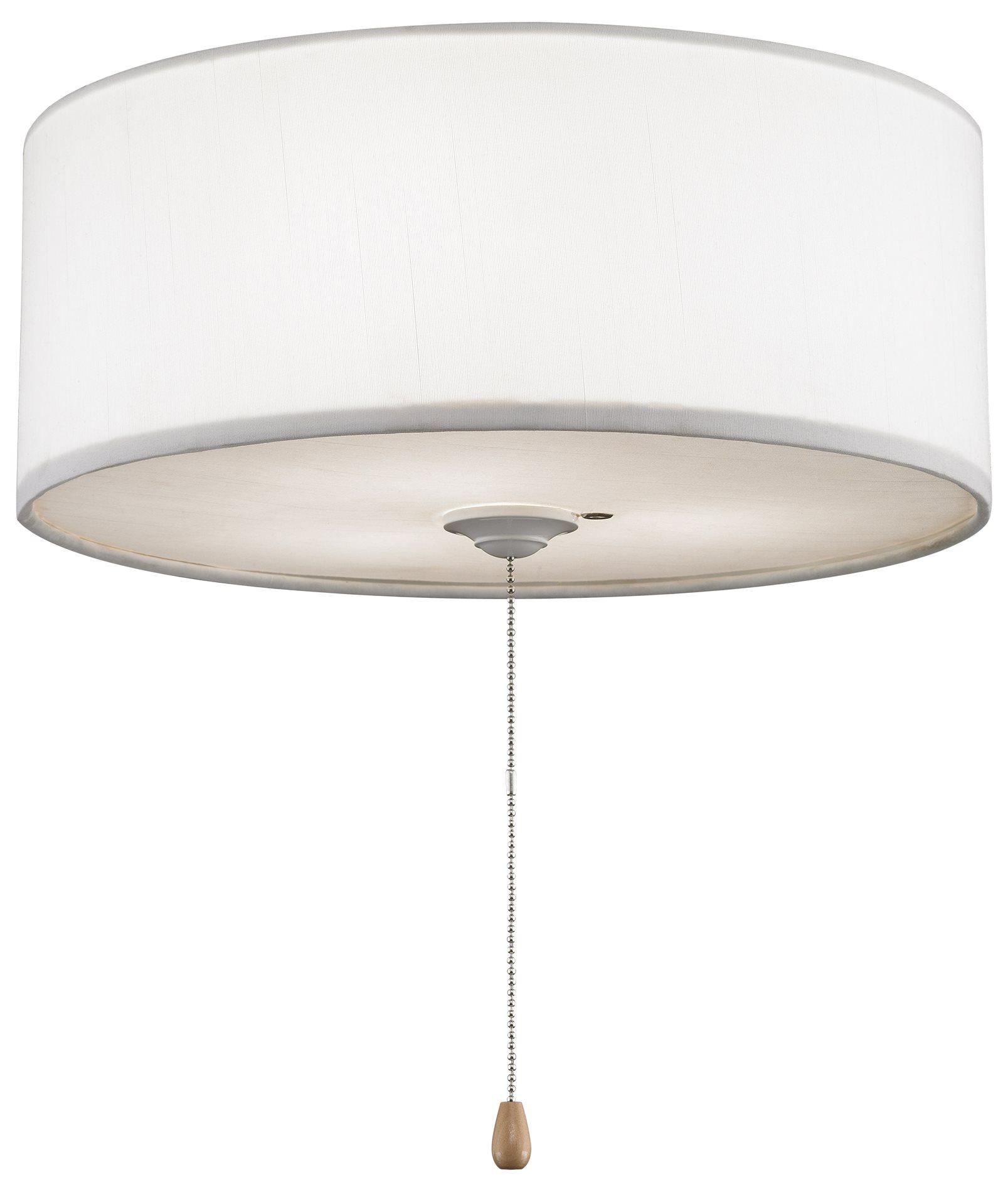 Fanimation Lk113 14 Quot Drum Lamp Shade Ceiling Fan Light Kit