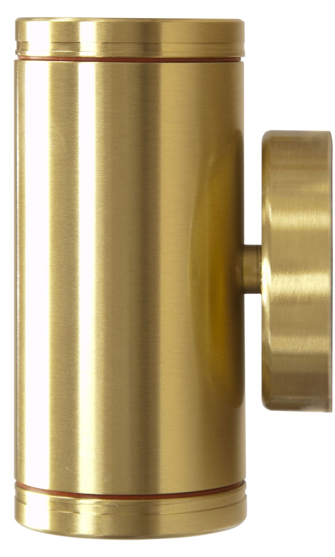 Dabmar Lv65 Bs Solid Brass Up And Down Outdoor Step Light