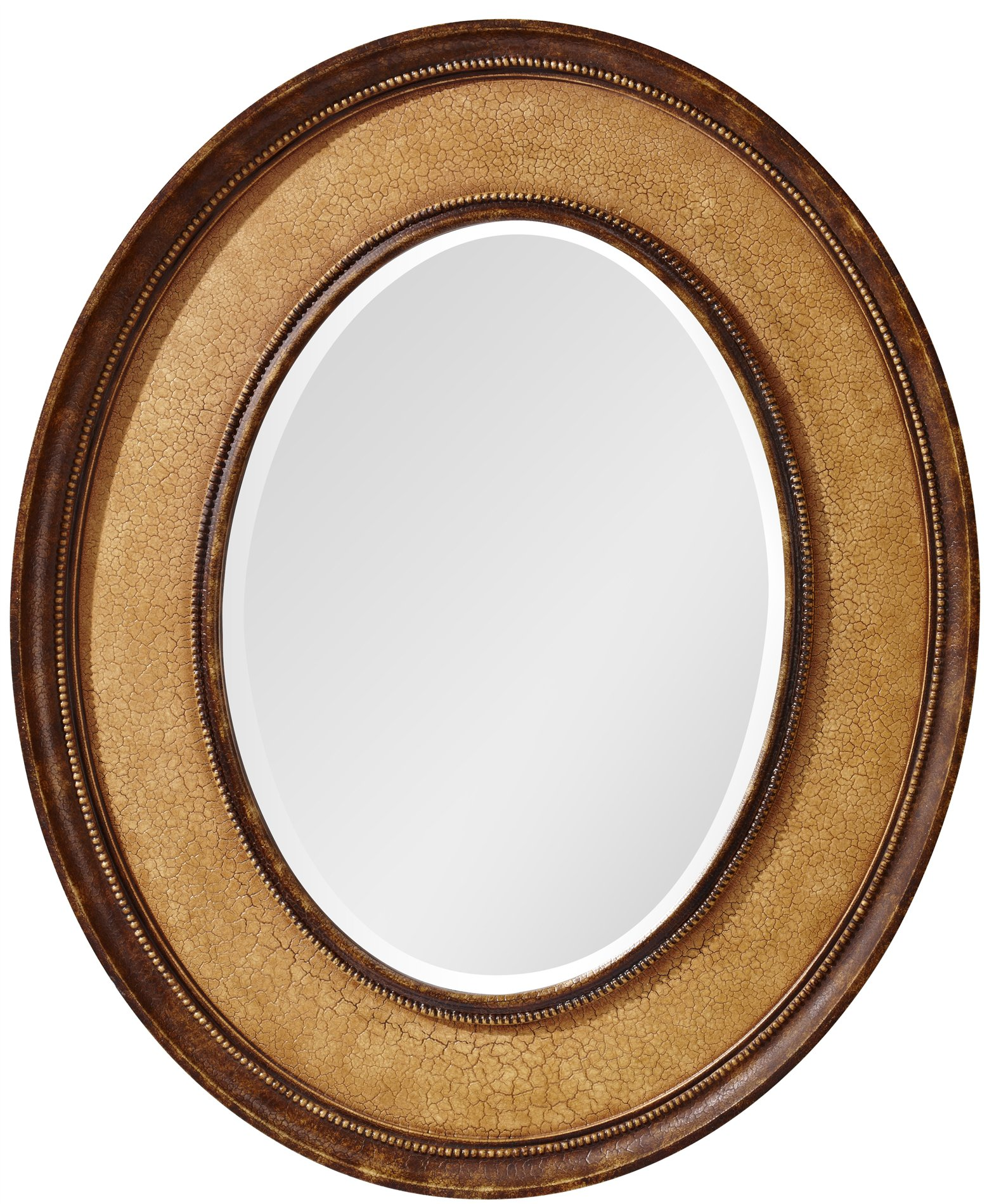 Murray Feiss Mirrors: Murray Feiss MR1135IC Evelyn Transitional Oval Mirror MRF