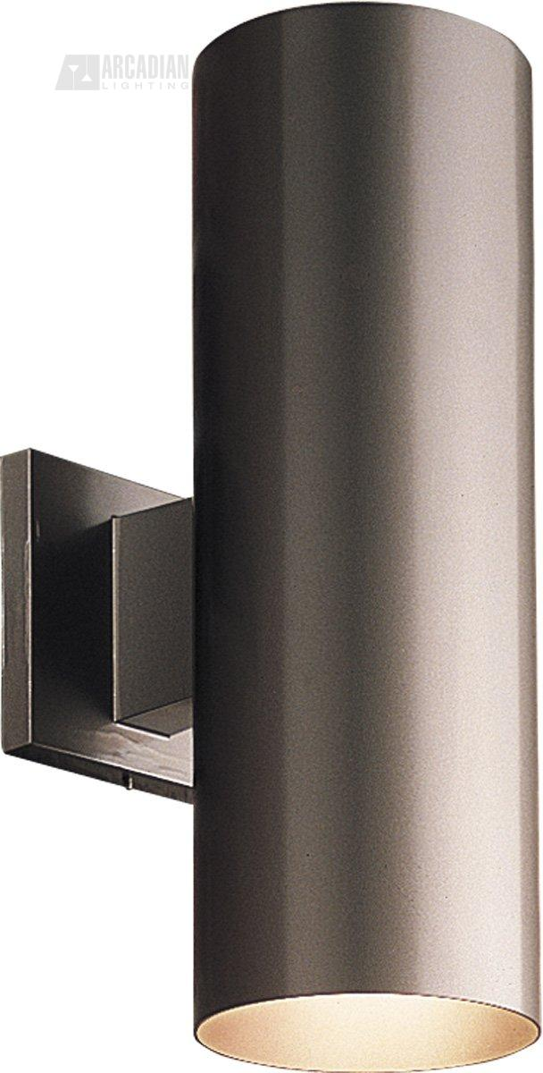 Progress Lighting P5675 5 Aluminum Cylinder Outdoor Wall Sconce Pg