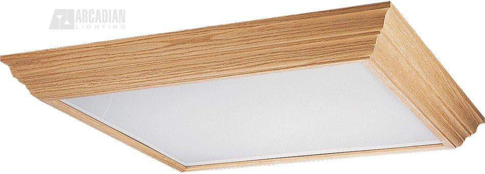 Progress Lighting P7273 Wood Frame Flush Mount Ceiling