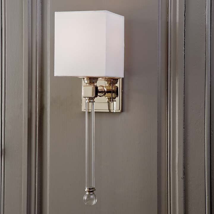 timeless design c4ae3 f84a3 Transitional Crystal Wall Sconce