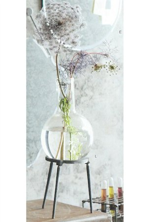 Roost Gl595 Pasteur Bulb Vase With Stand Small Pack Of 2 Rst Gl595