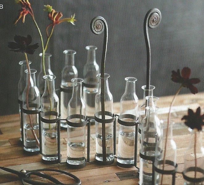 Roost Gl969 20 Bottle Serpentine Decorative Vase Rst Gl969