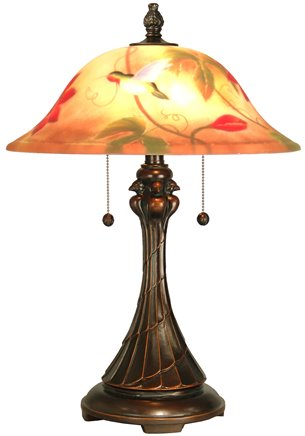 Dale Tiffany Rt60278 Tropical Sun Traditional Table Lamp Dt Rt 60278