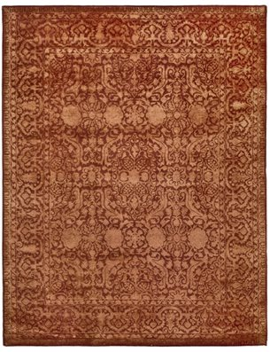 Classic Style Home Silk Road Traditional Hand Tufted Rug