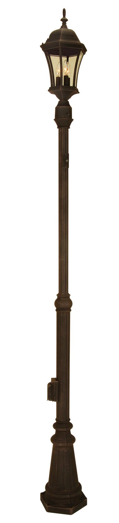 Craftmade Z8984 Outdoor Pad Mount 80 Quot Lamp Post Only With