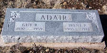 ADAIR, IRENE P - Apache County, Arizona   IRENE P ADAIR - Arizona Gravestone Photos