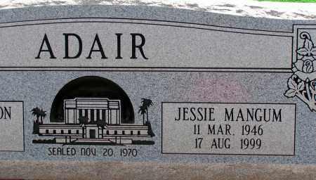 MANGUM ADAIR, JESSIE - Apache County, Arizona | JESSIE MANGUM ADAIR - Arizona Gravestone Photos