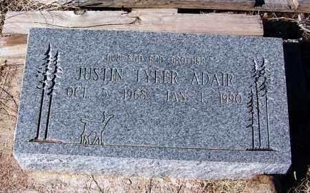 ADAIR, JUSTIN TYLER - Apache County, Arizona | JUSTIN TYLER ADAIR - Arizona Gravestone Photos