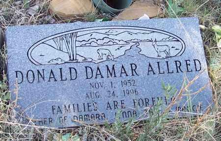 ALLRED, DONALD DAMAR - Apache County, Arizona   DONALD DAMAR ALLRED - Arizona Gravestone Photos