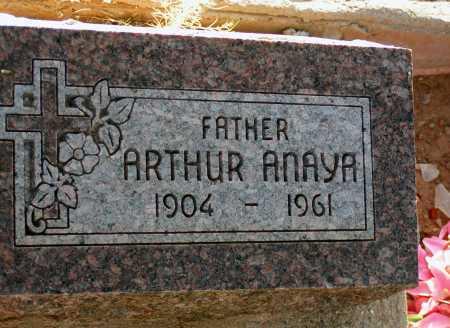 ANAYA, ARTHUR - Apache County, Arizona | ARTHUR ANAYA - Arizona Gravestone Photos