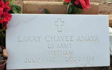 ANAYA, LARRY CHAVEZ - Apache County, Arizona | LARRY CHAVEZ ANAYA - Arizona Gravestone Photos