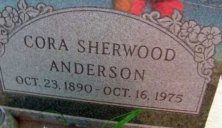 SHERWOOD ANDERSON, CORA - Apache County, Arizona | CORA SHERWOOD ANDERSON - Arizona Gravestone Photos