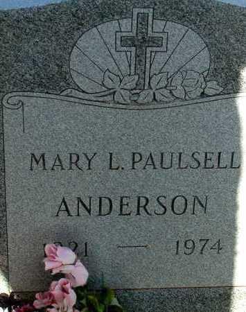 ANDERSON, MARY L. - Apache County, Arizona | MARY L. ANDERSON - Arizona Gravestone Photos