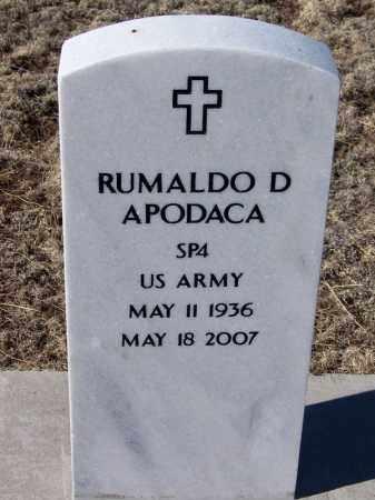 APODACA, RUMALDO D. - Apache County, Arizona | RUMALDO D. APODACA - Arizona Gravestone Photos