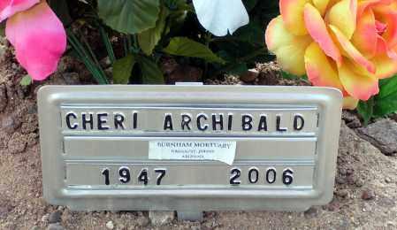 ARCHIBALD, CHERI - Apache County, Arizona   CHERI ARCHIBALD - Arizona Gravestone Photos