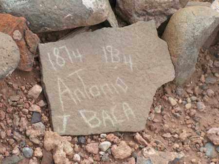 BACA, ANTONIO J. - Apache County, Arizona   ANTONIO J. BACA - Arizona Gravestone Photos