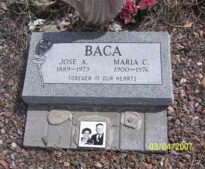 BACA, JOSE A. - Apache County, Arizona | JOSE A. BACA - Arizona Gravestone Photos