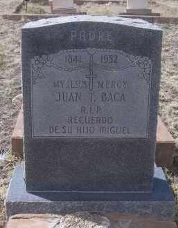 BACA, JUAN T. - Apache County, Arizona | JUAN T. BACA - Arizona Gravestone Photos