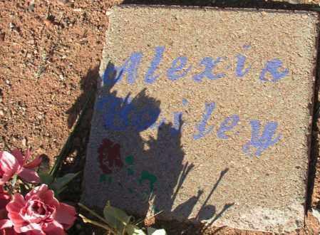 BAILEY, ALEXIA - Apache County, Arizona   ALEXIA BAILEY - Arizona Gravestone Photos
