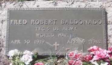 BALDONADO, FRED ROBERT - Apache County, Arizona | FRED ROBERT BALDONADO - Arizona Gravestone Photos