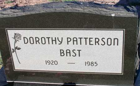 PATTERSON BAST, DOROTHY - Apache County, Arizona | DOROTHY PATTERSON BAST - Arizona Gravestone Photos