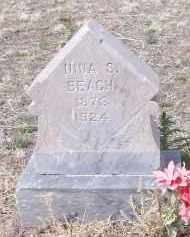 BEACH, NINA S. - Apache County, Arizona | NINA S. BEACH - Arizona Gravestone Photos
