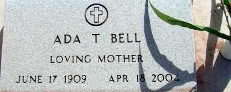 BELL, ADA T. - Apache County, Arizona | ADA T. BELL - Arizona Gravestone Photos