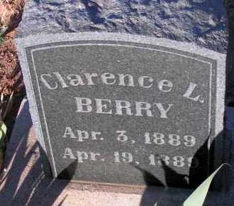 BERRY, CLARENCE L. - Apache County, Arizona | CLARENCE L. BERRY - Arizona Gravestone Photos
