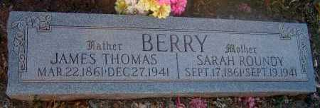ROUNDY BERRY, SARAH - Apache County, Arizona | SARAH ROUNDY BERRY - Arizona Gravestone Photos