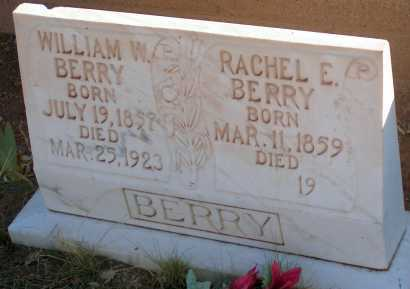 BERRY, RACHEL E. - Apache County, Arizona | RACHEL E. BERRY - Arizona Gravestone Photos