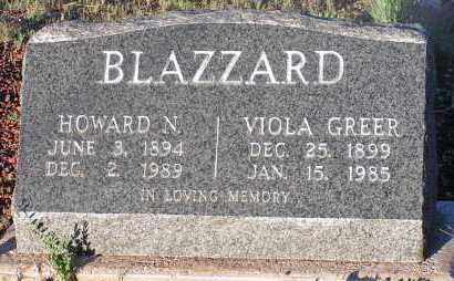 BLAZZARD, HOWARD N. - Apache County, Arizona | HOWARD N. BLAZZARD - Arizona Gravestone Photos