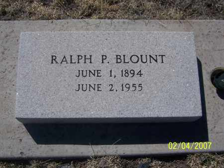 BLOUNT, RALPH P. - Apache County, Arizona   RALPH P. BLOUNT - Arizona Gravestone Photos