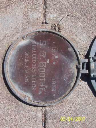 BOOTHE, S.B. - Apache County, Arizona   S.B. BOOTHE - Arizona Gravestone Photos