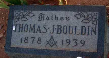BOULDIN, THOMAS J. - Apache County, Arizona | THOMAS J. BOULDIN - Arizona Gravestone Photos