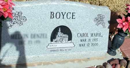 BOYCE, CAROL MARIE - Apache County, Arizona | CAROL MARIE BOYCE - Arizona Gravestone Photos
