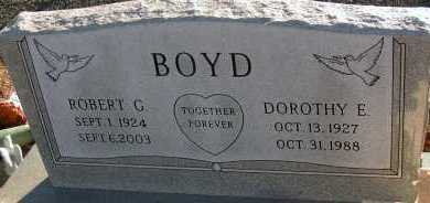 BOYD, ROBERT G. - Apache County, Arizona | ROBERT G. BOYD - Arizona Gravestone Photos
