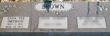 SMITHSON BROWN, ANNA VEE - Apache County, Arizona | ANNA VEE SMITHSON BROWN - Arizona Gravestone Photos